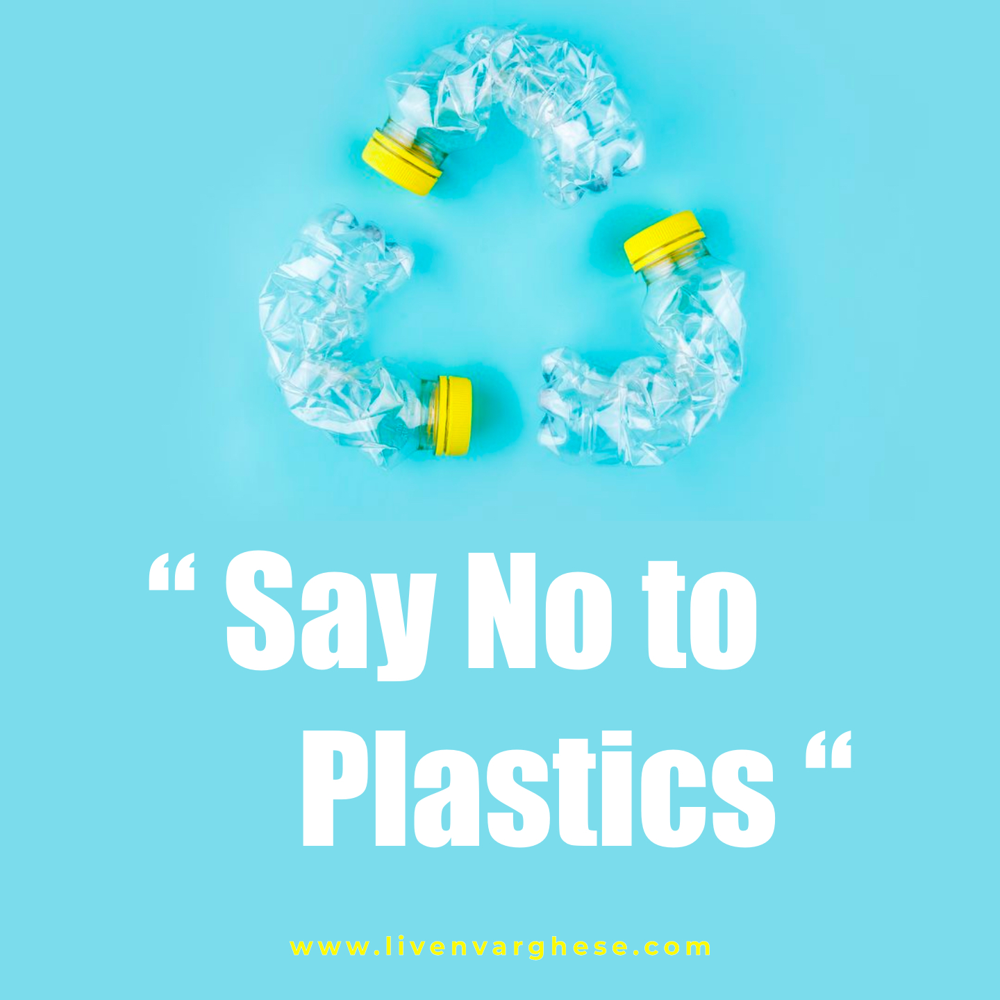 Say No to Plastics